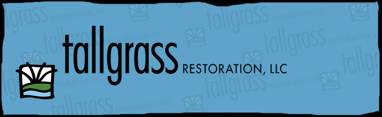 Logo for Tallgrass Restoration, LLC located in Milton and Forestville, WI and in Schaumburg, IL